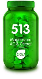 AOV 513 Magnesium AC & Citraat 150 mg