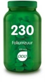 AOV 230 Foliumzuur 400 mcg 100 tabletten