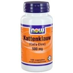 NOW Cat`s Claw Katten Klauw 500 mg