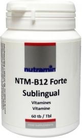 Nutramin NTM B12 forte sublingual 60 tabletten