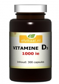 Elvitaal Vitamine D3 25 mcg
