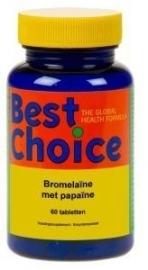 Best Choice Bromelaïne met Papaïne