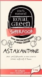 Royal Green Astaxanthine 60 capsules