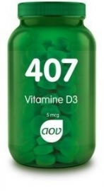 AOV 407 Vitamine D3 5mcg 180 tabletten