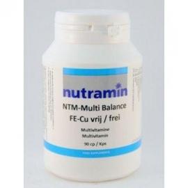 Nutramin NTM Multi balance Z Fe/Cu