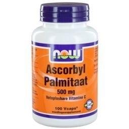 NOW Ascorbyl Palmitaat 500 mg 100 capsules