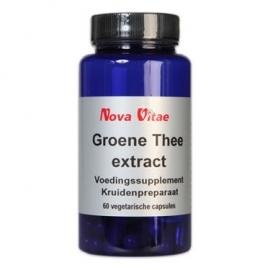 Nova Vitae Groene Theecapsules Extract 120 capsules