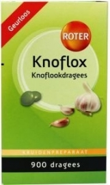 Roter Knoflox 900 dragees