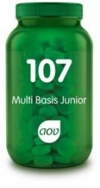 AOV 107 Ortho Basis Junior 60 kauwtabletten