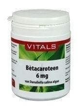 Vitals Bètacaroteen 6mg natuurlijk 100 capsules