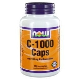NOW Vitamine C 1000mg bioflavonoiden 100 capsules
