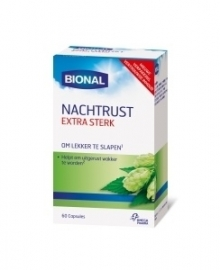 Bional Nachtrust Melatonine 60 capsules