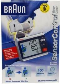 Braun Bloeddruk Hartslagmeter sensocontrol