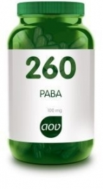 AOV 260 PABA 100 mg 90 capsules