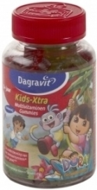 Dagravit Kids Xtra gummies Multivitaminen Dora 60 stuks