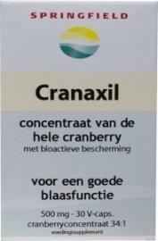 Springfield Cranaxil cranberry 500 mg
