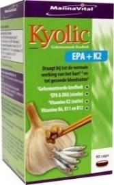 Mannavital Kyolic EPA en K2