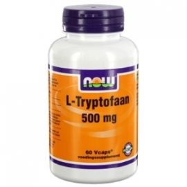 NOW L Tryptofaan 500 mg 60 capsules