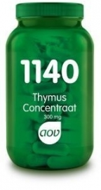 AOV 1140 Thymus concentraat 300mg 60 capsules