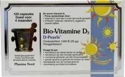 Pharmanord Bio vitamine D3 25mcg 1000IE