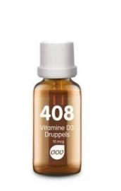 AOV 408 Vitamine D3 druppels 10mcg 25ml