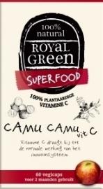 Royal Green Camu camu vitamine C 60 capsules