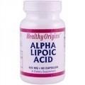 Healthy Origins Alfa Liponzuur 600 mg 60 capsules