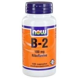NOW Vitamine B 2 100 mg