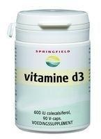 Springfield Vitamine D3, 1000iu 120 Vcaps