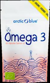 Arctic blue Omega 3 zalmolie biologisch