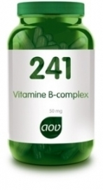 AOV 241 Vitamine B complex 50 mg 180 capsules