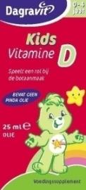 Dagravit Kids Vitamine D druppels oliebasis 25ml
