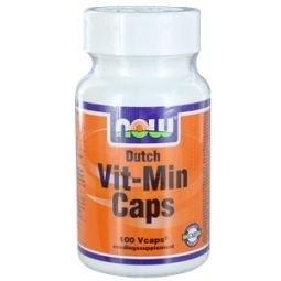 NOW Dutch Vit Min - 100 capsules