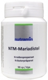Nutramin NTM Mariadistel 600 mg 90 capsules