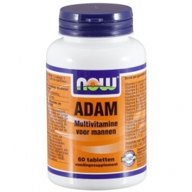 NOW Adam multi vitamine man