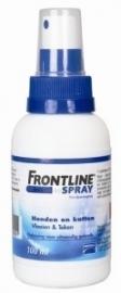 Frontline spray bestrijding vlo en teek