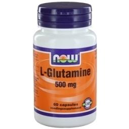 NOW L Glutamine 500 mg 60 capsules