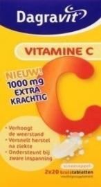 Dagravit Vitamine C 40 bruistablet 40 bruistabletten
