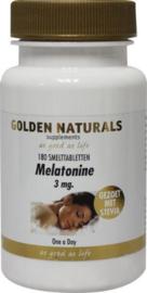 Golden Naturals Melatonine 3 mg smelttablet