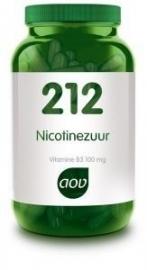 AOV 212 Nicotinezuur 90 capsules