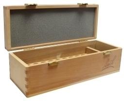 Bach Remedies gesigneerde houten doos kist