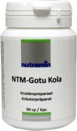 Nutramin NTM Gotu Kola 90 capsules