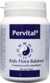 Pervital Kids flora balance 60 capsules