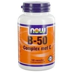 NOW Vitamine B50 met Vitamine C