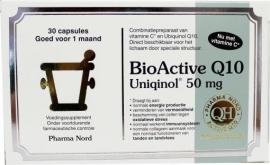 Pharmanord Bio active uniquinol Q10 50mg 30 capsules