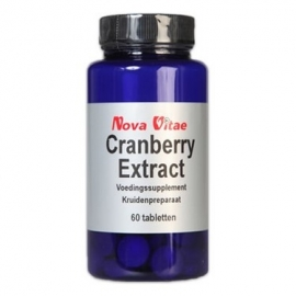 Nova Vitae Cranberry Extract 60 capsules