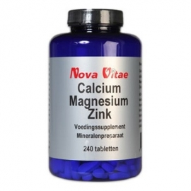 Nova Vitae Calcium Magnesium Zink 240 tabletten