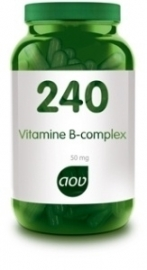 AOV 240 Vitamine B complex 50 mg 60 tabletten