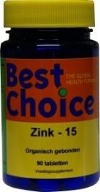 Best Choice Zink 15 90 tabletten