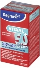 Dagravit Vitaal 50+ extra sterk 60 tabletten